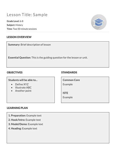 7 8 weekly lesson plan template doc resumetem