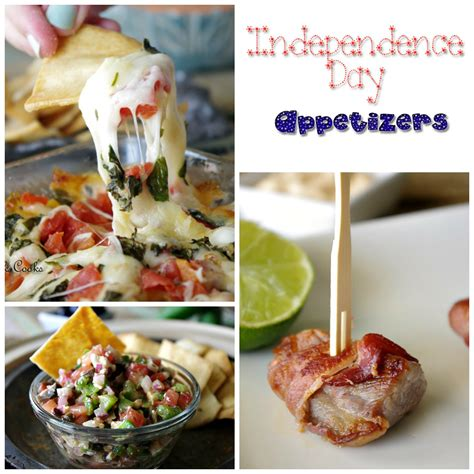 independence day appetizers dixie chik cooks