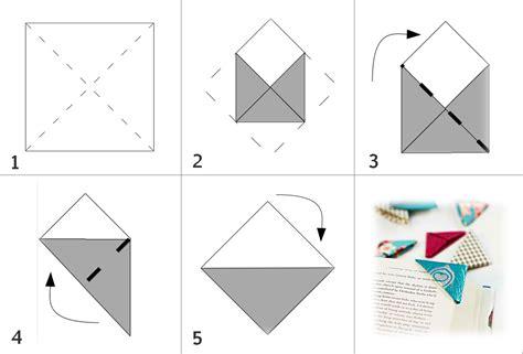 Mit Origami - lesezeichen basteln sunny7