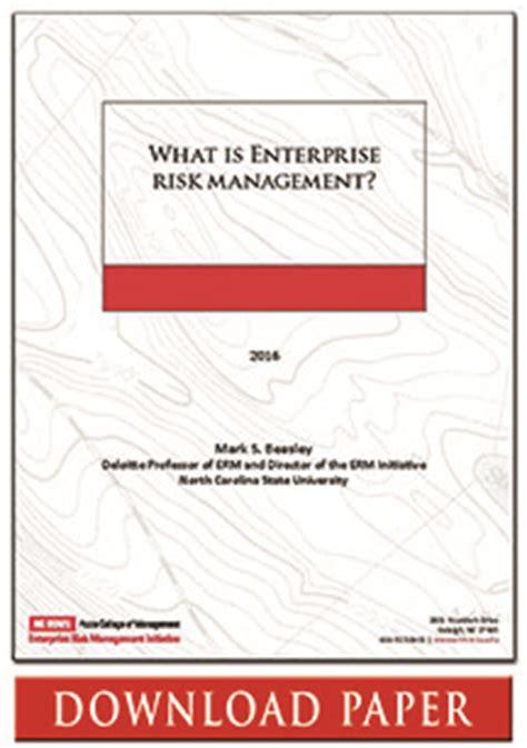 research paper on risk management research paper on enterprise risk management