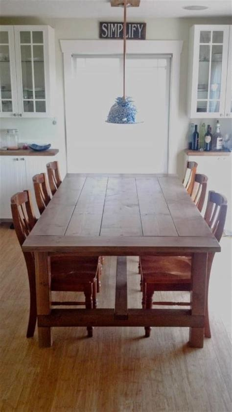 60 handmade farmhouse table plans diy already setting