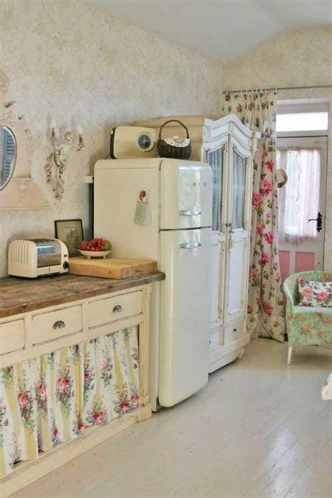 cottage chic 32 sweet shabby chic kitchen decor ideas to try shelterness