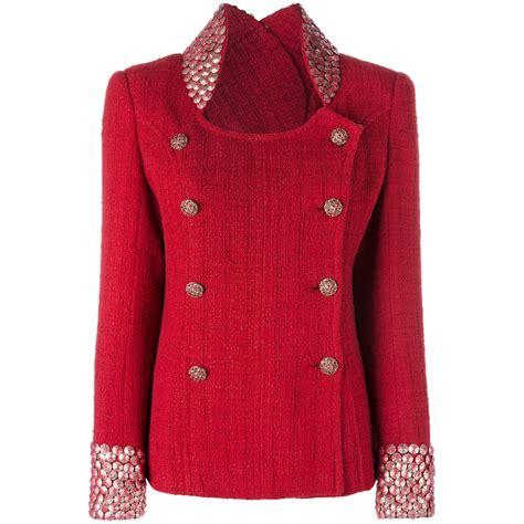Tas Chanel Branded Bag Fashion Style Stud Studded Satchels Gaul Elegan chanel studded tweed jacket rewind vintage