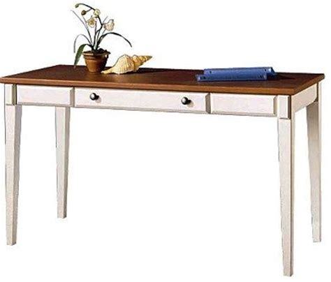 Antique White Writing Desk by Bush Wc80210 Writing Desk Antique White Salome Cherry