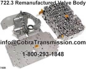 Mercedes Transmission Parts 722 3 Remanufactured Valve Ipn10 R68740b 499 99 Cobra Transmission