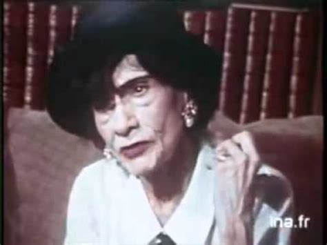 coco chanel biography youtube video coco chanel 1969 interview part 1 2