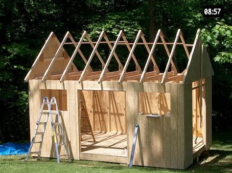 Build Your Own Outdoor Shed by Build Your Own Garden Shed Plans Cool Shed Design
