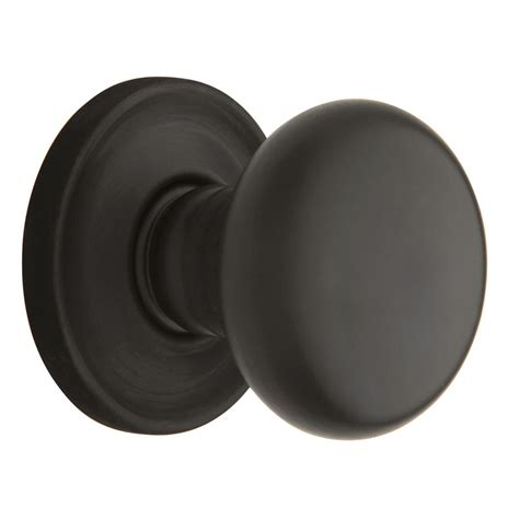 Bronze Door Knobs Shop Baldwin Estate Classic Rubbed Bronze