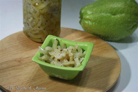 come si cucinano le zucchine spinose zucchine spinose sott olio le ricette di marina