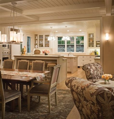 Colonial Style Homes Interior by Downtown Farmhouse Farmhouse Kitchen Other Metro