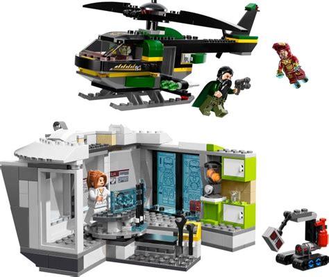 Lego 76007 Iron Malibu Mansion Attack lego 76007 1 iron malibu mansion attack