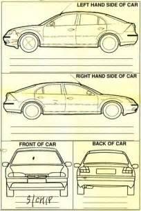 Car Rental Checklist Form Template Rental Car Damage Form Flickr Photo