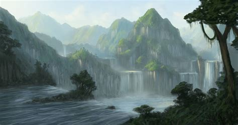 matte painting learning concept and matte painting