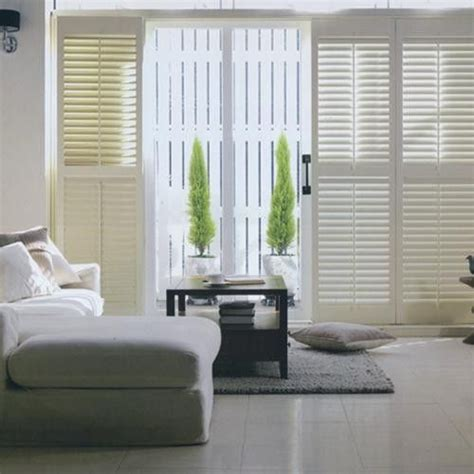 Interior Shutters For Sliding Glass Doors by Norman Premium Wood Plantation Shutters From Blinds