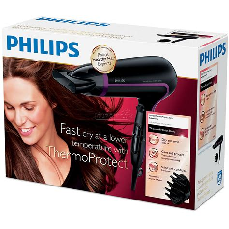 Philips Hair Dryer Thermoprotect hair dryer ionic thermoprotect philips 2100w hp8234 10