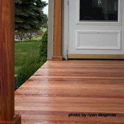 Best Wood For Porch Floor by Decking Materials Porch Flooring Tongue And Groove