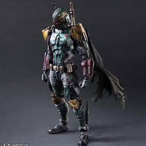 Halo Fire Pit - star wars play arts kai variant boba fett action figure gadgetsin