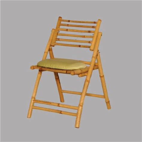 Bamboo Chair Cushion by Bamboo Folding Chair With Cushion