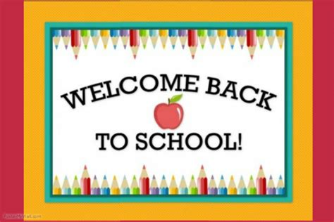 welcome back to school sign poster template postermywall