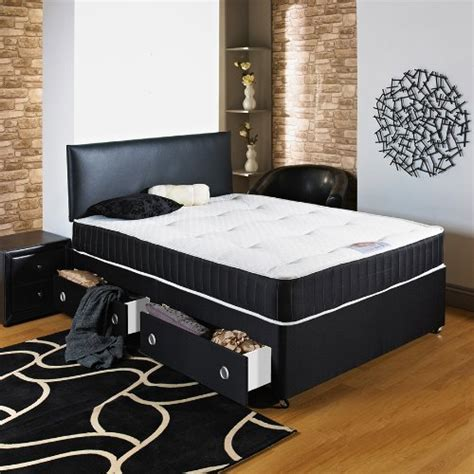 Divan Bed No Headboard by Hf4you Chester Ortho Divan Bed 4ft6 No Storage