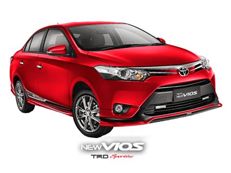 Kursi Vios arti dari logo trd pada mobil toyota toyota astra indonesia
