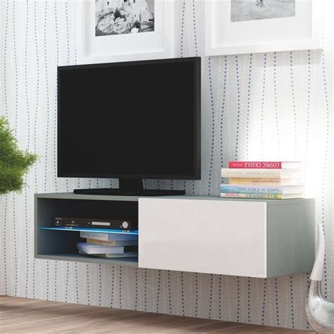 Meuble Tv Suspendu Design by Meuble Tele Suspendu Maison Design Wiblia