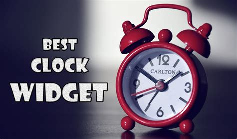 clock widgets for android 7 best clock widgets for android 2017 trick xpert