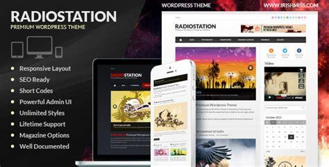 themes wordpress radio station radio station premium wordpress theme the best free