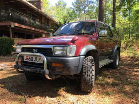 Toyota 4runner Diesel 1992 Toyota Surf 4runner 4wd Hilux Ssr X 4 Runner Turbo