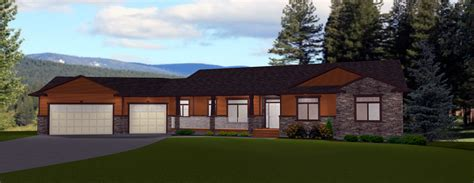 House Plans Bungalow With Basement by Walkout Basements By E Designs 1 Bungalow House Plans