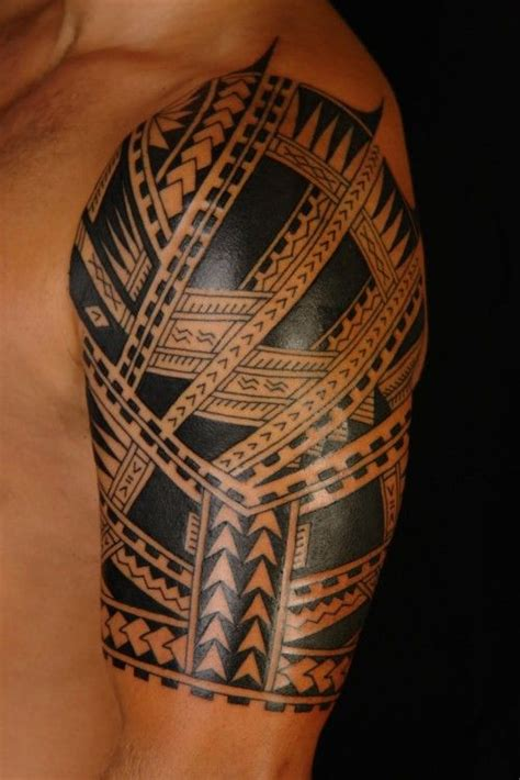 tribal quarter sleeve tattoo 25 best ideas about tribal sleeve tattoos on