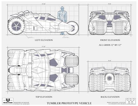 how to draw blueprints five amazing batmobile concept designs 171 film sketchr