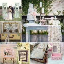 shabby chic wedding inspiration station pinterest