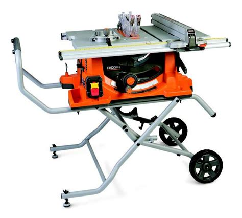 Ridgid Portable Table Saw by Portable Table Saw Review Site Benchtop Woodworking