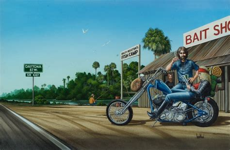 david mann motorcycle art wallpaper wallpapersafari