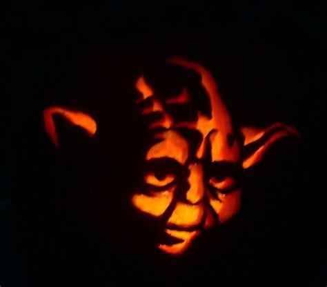 yoda pumpkin carving by hawkke on deviantart