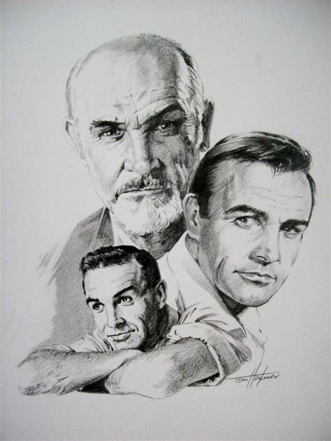 D Sketches by Connery By Tom Heyburn Sketches Portraits