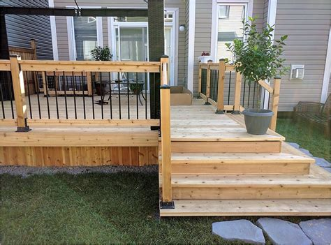 The Deck At by Capital Deck And Fence Ottawa Fencing Deck Contractors