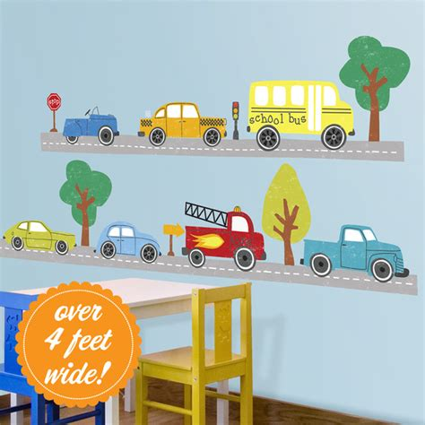 cars trucks wall decals contemporary wall decals san francisco by lot 26 studio inc