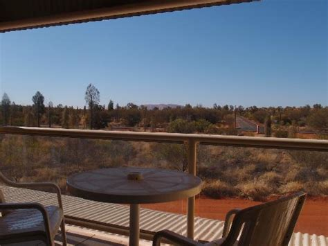 Ayers Rock Desert Gardens Hotel View From Our Balcony