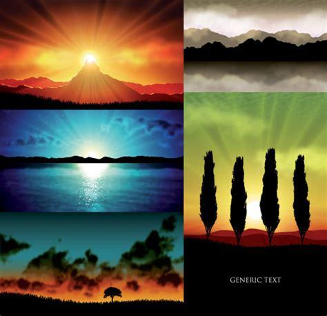 5 Imagenes No Realistas   5 vectoriales realistas paisajes descarga gratuita de