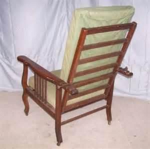 Vintage Recliner Chair Antique Quartersawn Oak Morris Chair Recliner On Popscreen