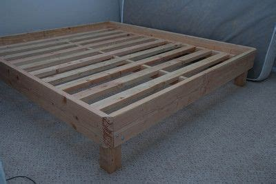 wooden bed frame for my air mattress projects to show hubby wooden bed frame diy