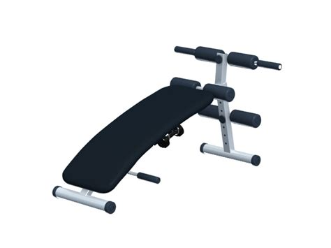 modells workout bench multifunction exercise bench 3d model 3dsmax files free