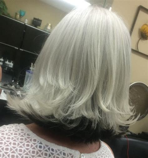 Grey Hairstyles For Black 60 by 60 Gorgeous Hairstyles For Gray Hair