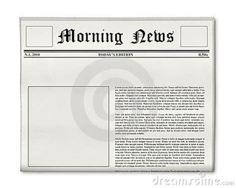 Vorlage Word Zeitungsartikel Blank Newspaper Template For Word