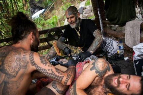 folk tattoo jogja indonesian tattooists revive tribal traditions