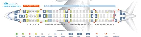 boeing 777 cabin layout seat map boeing 777 300 klm best seats in the plane