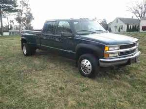 purchase used 2000 chevy 3500 dually truck k30 crew