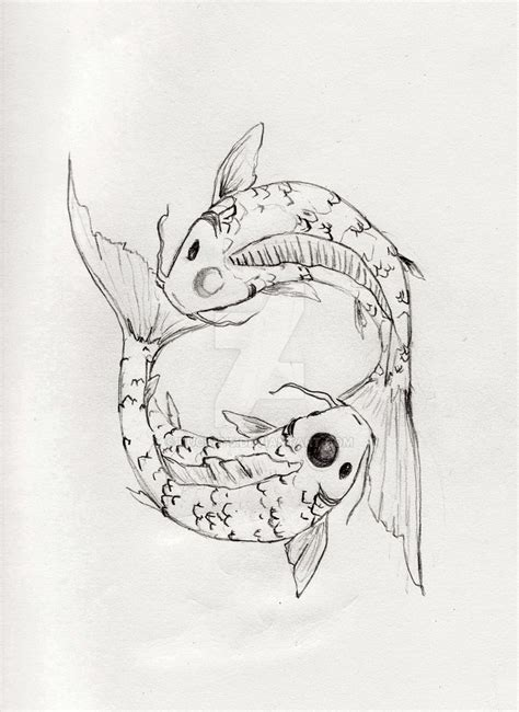 koi fish pisces tattoo design pisces koi tattoo design by duckey5 on deviantart